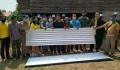 อบต.นาทราย ร่วมกับส่วนราชการ ลงพื้นที่มอบสังกะสีแก่ครอบครัวผู้ประสบวาตภัย