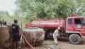 เจ้าหน้าที่ นำรถบรรทุกน้ำลงพื้นที่ให้บริการน้ำไว้อุปโภค-บริโภค ประจำปีงบประมาณ 2563